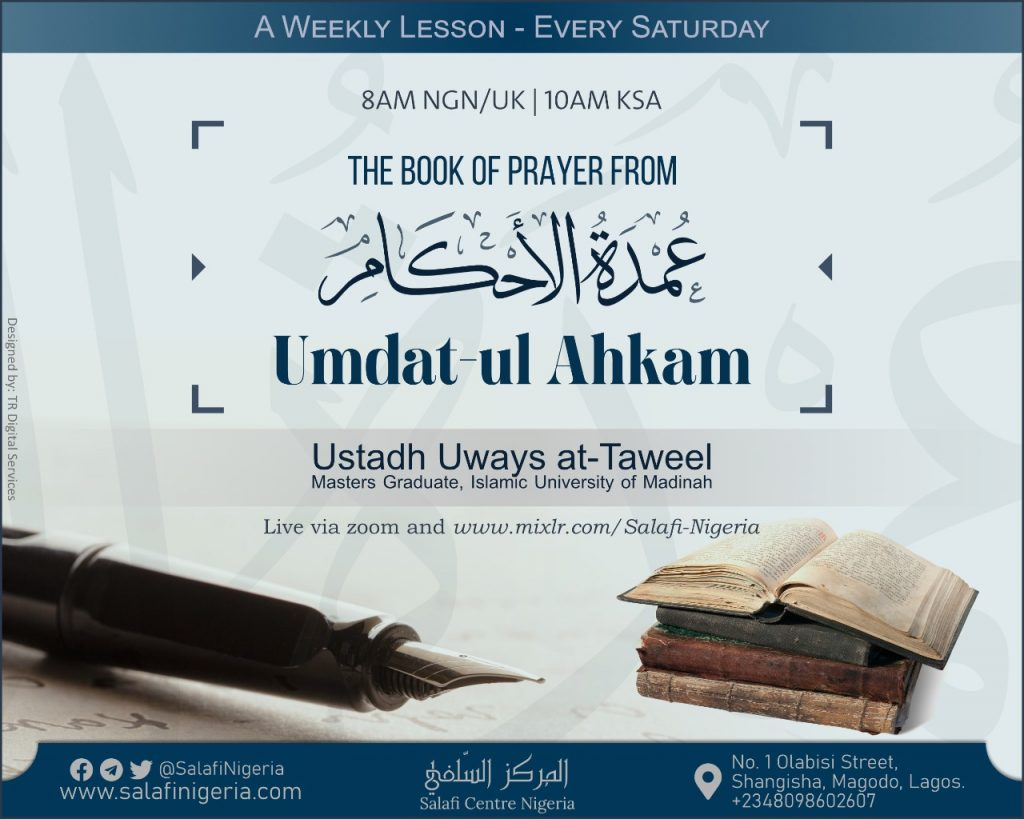 Umdah - Book of Prayer