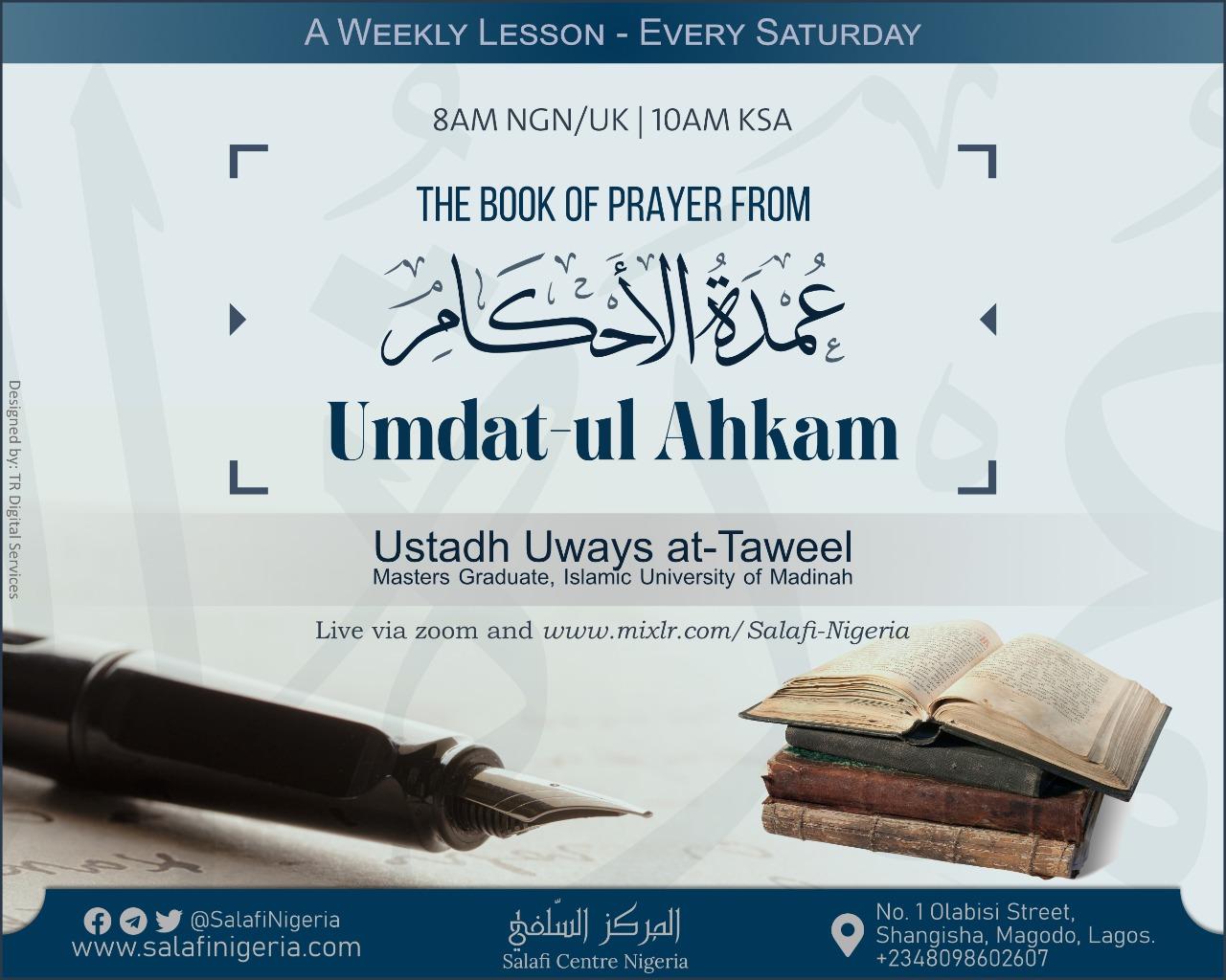 Classes: Book of Prayer